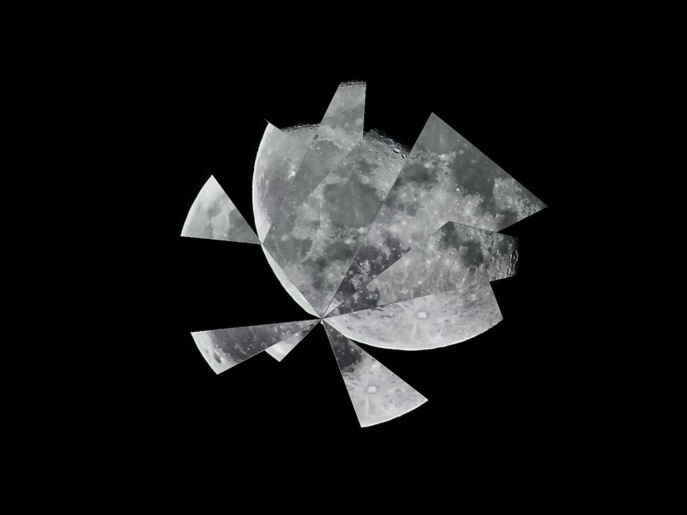 """Abstract Phase-1 """"Shattered Moon"""" by 88Mod"""