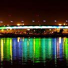 The Lighted Bridge by aaronarroy