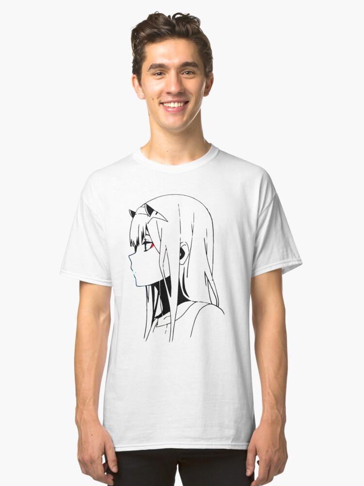Zero Two Classic T-Shirt Front