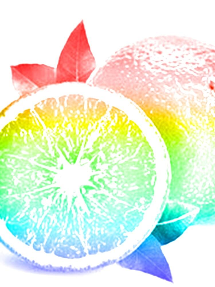 Fruit Pattern / Orange Burst by MeCocky