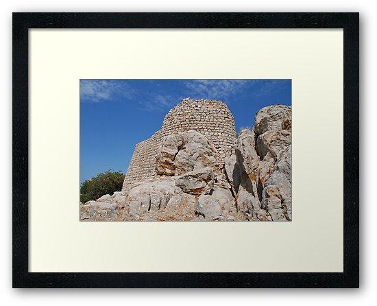 Tilos Crusader castle by David Fowler