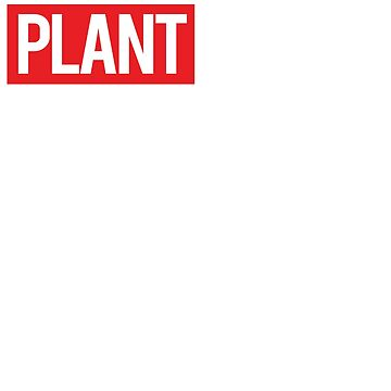 Plant Based Tee by athenaasketch