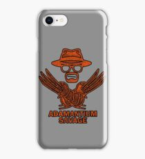 Adamantium Savage iPhone Case/Skin