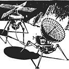 Lunar rover 2 by Gareth Stamp
