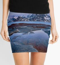 Varied Sunset Mini Skirt