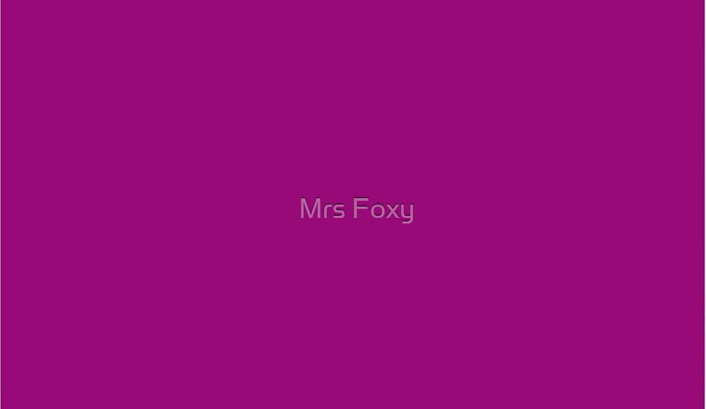 Pink Collection by Mrs Foxy