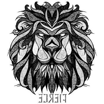 Leo Zodiac sign ( FIERCE ) by mcrum