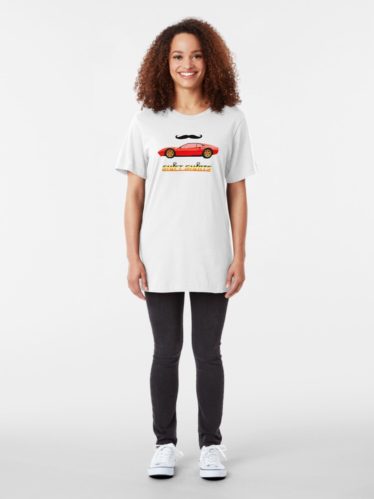 Alternate view of Shift Shirts 80s - Magnum PI Inspired Slim Fit T-Shirt