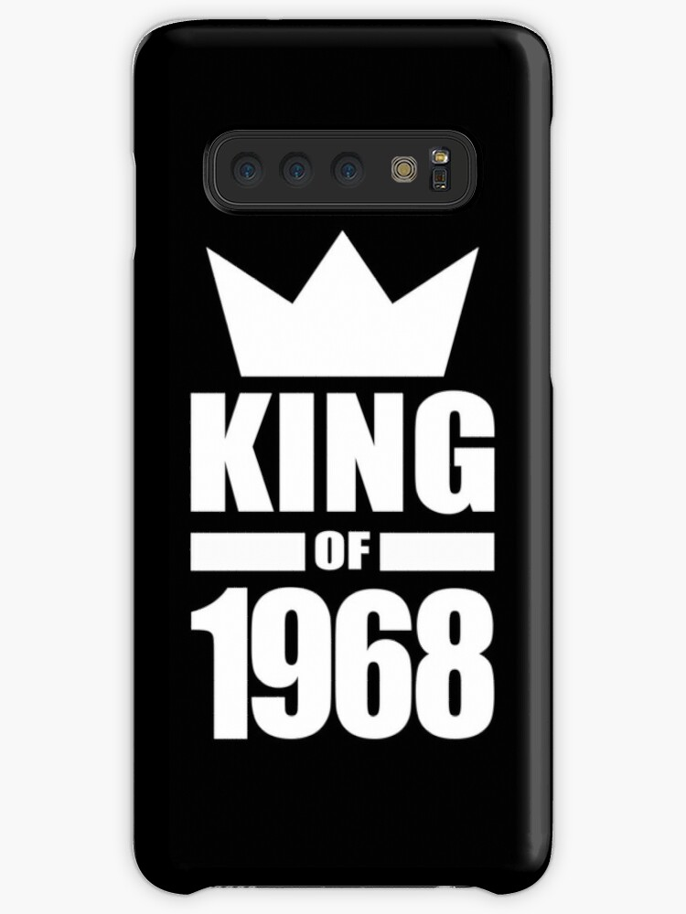 Born In 1968 King Mens Birthday Gift Ideas Crown