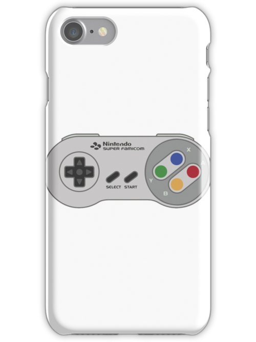 super nintendo controller iphone cases skins by wakupanda redbubble. Black Bedroom Furniture Sets. Home Design Ideas