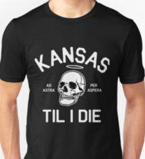 Kansas Til I Die Unisex T-Shirt