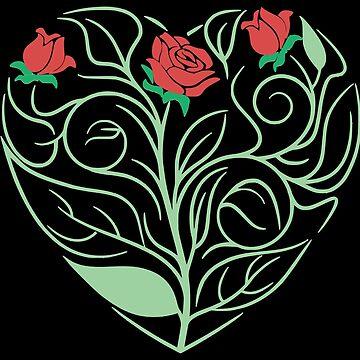 Rose Heart by realmatdesign