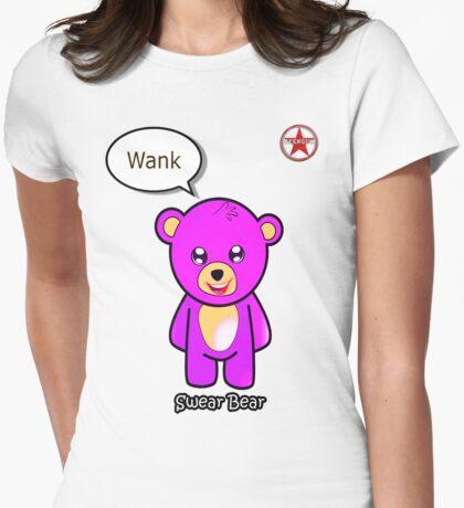 Geek Girl - SwearBear - Wank T-Shirt
