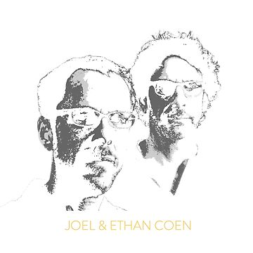 Joel and Ethan Coen T-Shirt by PopCultureClub