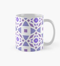 geometry backdrop graphical template varying repeating tiling repetition color purple seamless colorful repeat pattern Classic Mug