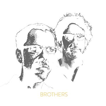 """Brothers"" - The Coen Brothers T-Shirt by PopCultureClub"