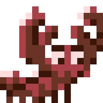 Pixel Art Lobster by Stridden