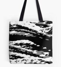 Schwarz und weiß Tote Bag