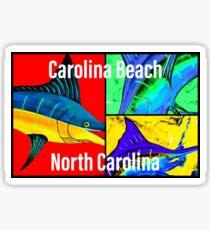 Carolina Beach NC Sticker