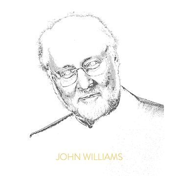 John Williams (composer) design by PopCultureClub