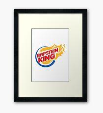 Bapstein (Burger) King Comet Framed Print