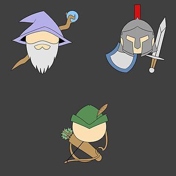 Wizard Knight Archer by Zeeph