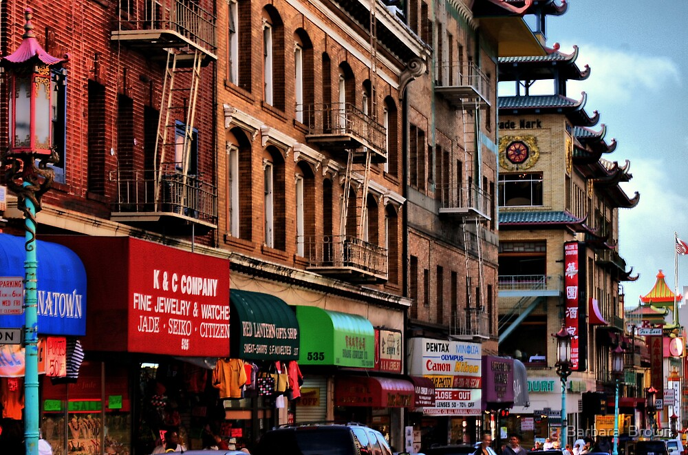 Chinatown by Barbara  Brown