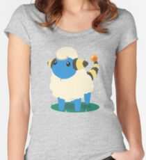Do androids dream of Mareep? Women's Fitted Scoop T-Shirt