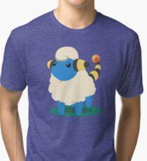 Do androids dream of Mareep? Tri-blend T-Shirt