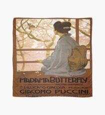 Weinleseplakat - Madama-Schmetterling Tuch