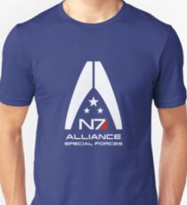 Mass Effect - Alliance Special Forces N7 Unisex T-Shirt