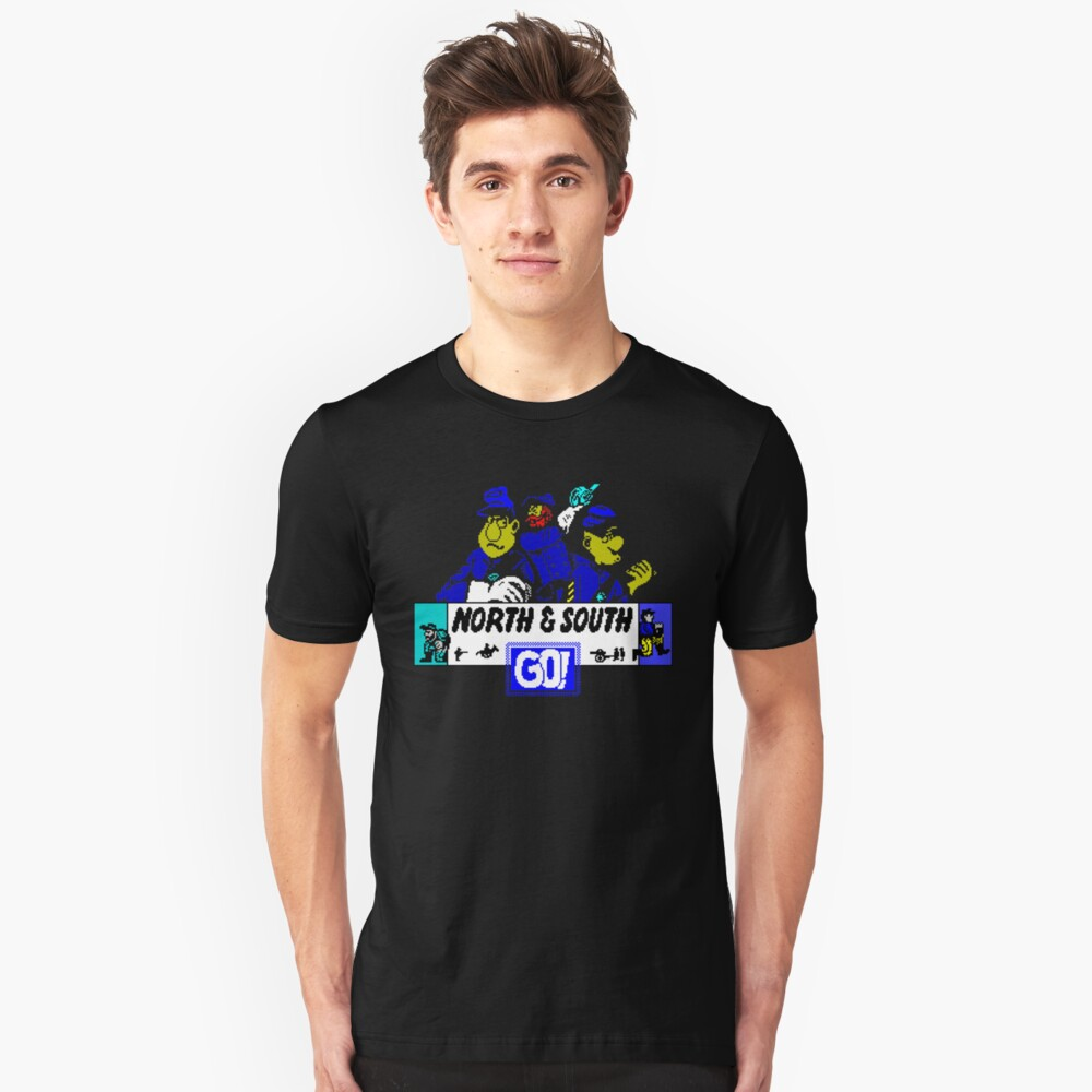 Gaming [ZX Spectrum] - North & South Unisex T-Shirt Front