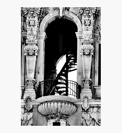 Spiral Staircase in the Tower Photographic Print