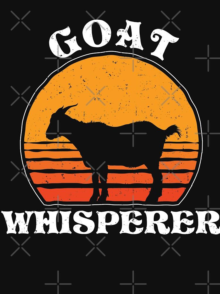 f7bd95ac Crazy Goat Whisperer Funny Goat Lover