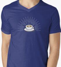 Latte Men's V-Neck T-Shirt