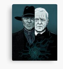 WESTWORLD - Who is in control? Canvas Print