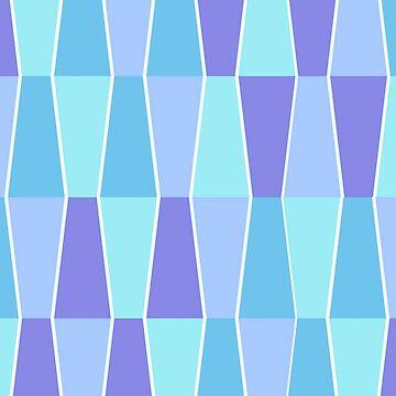 Block Pattern Blue by miniverdesigns