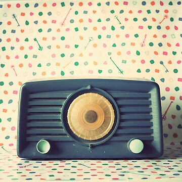 Retro,vintage,radio,original,old, fashioned,digital photo by love999