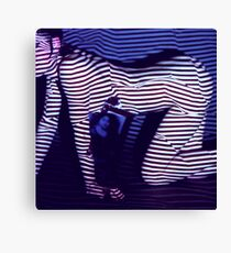 zebra daze Canvas Print