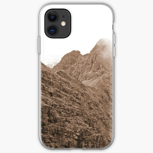 The Bhasteirs and Sgurr Nan Gillean iPhone Soft Case