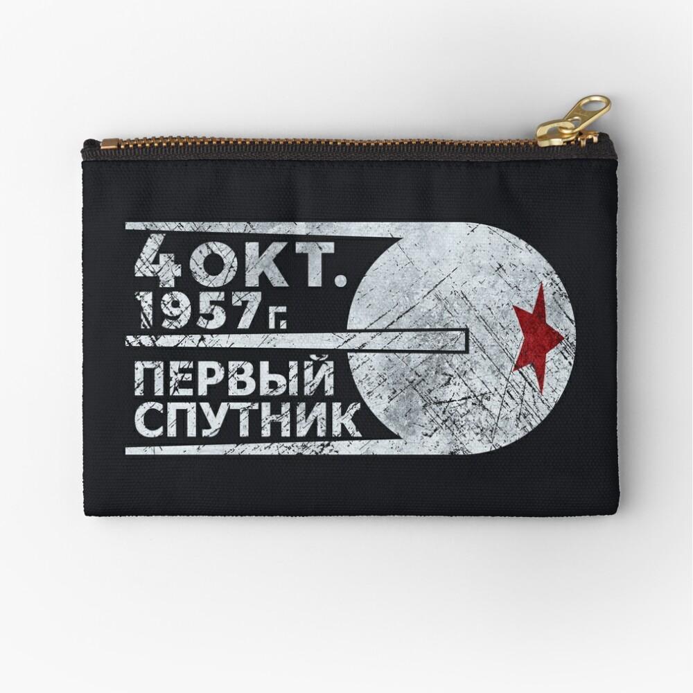 CCCP Sputnik 1 Erste Satellit - Silber Edition Täschchen