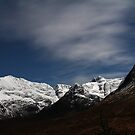The Black Cuillin By Full Moon by ScotLandscapes