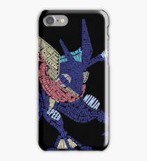 Dark Frog Ninja iPhone Case/Skin