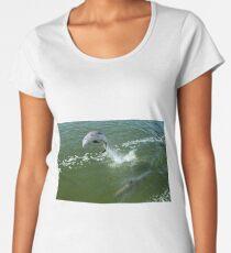 Dolphin  Women's Premium T-Shirt