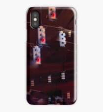 Traffic Light Abstraction iPhone Case