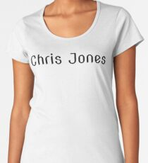 Chris Jones Women's Premium T-Shirt