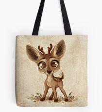 Doodles by David Kawena - Deer Pillow Tote Bag