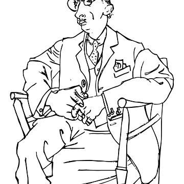 Pablo Picasso Igor Stravinsky Retrato Camiseta, Reproducción de clothorama