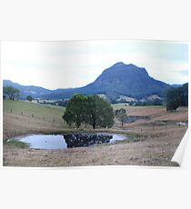 Three ponds & a mount Poster