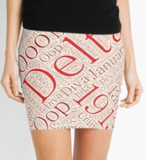 Delta Diva Wortkunst Minirock